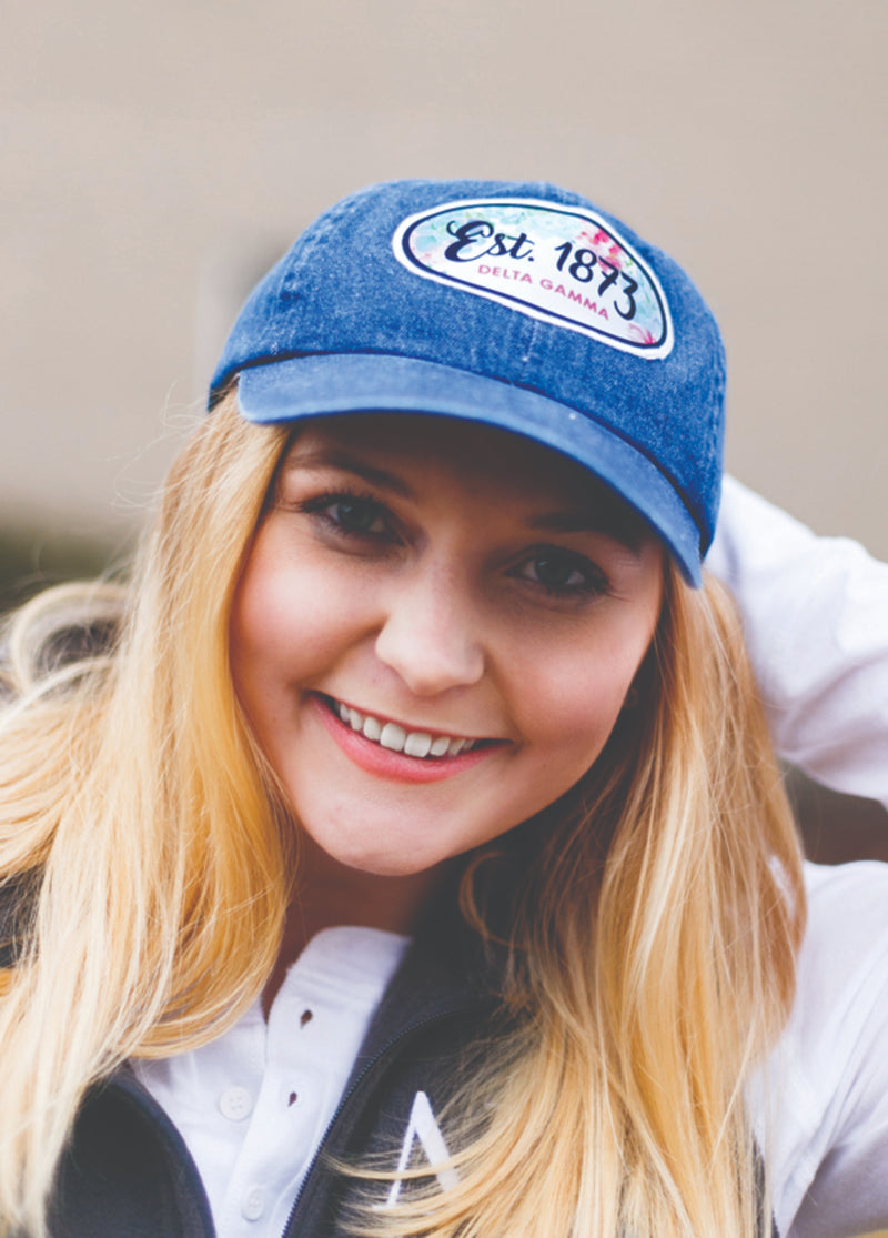 Established Patch Hat - Hannah's Closet - The Official Boutique for Delta Gamma