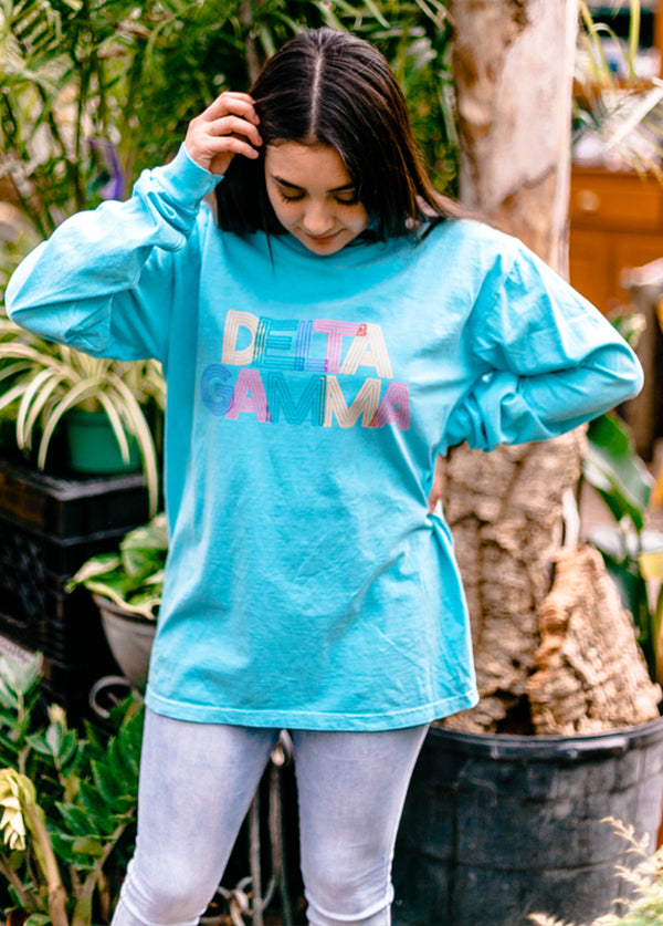 Color Me DeeGee Tee - Hannah's Closet - The Official Boutique for Delta Gamma