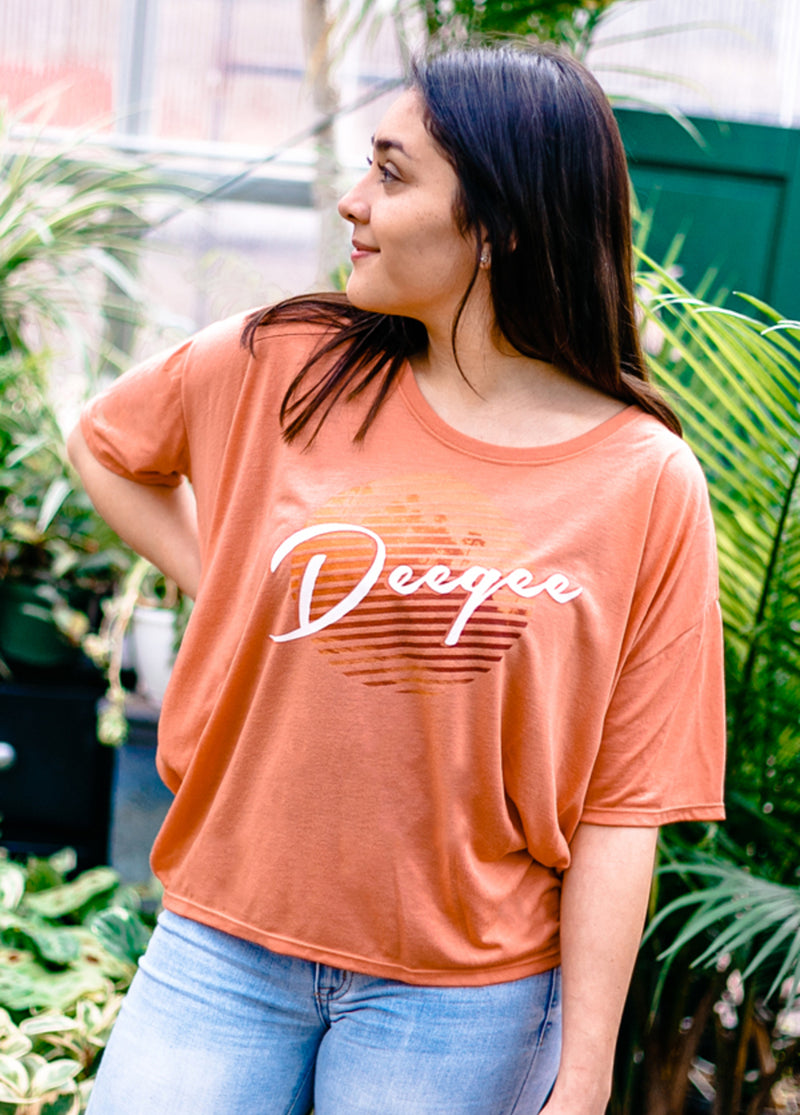 Sunset Beach Tee - Hannah's Closet - The Official Boutique for Delta Gamma