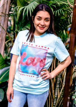 80's Love Tee - Hannah's Closet - The Official Boutique for Delta Gamma