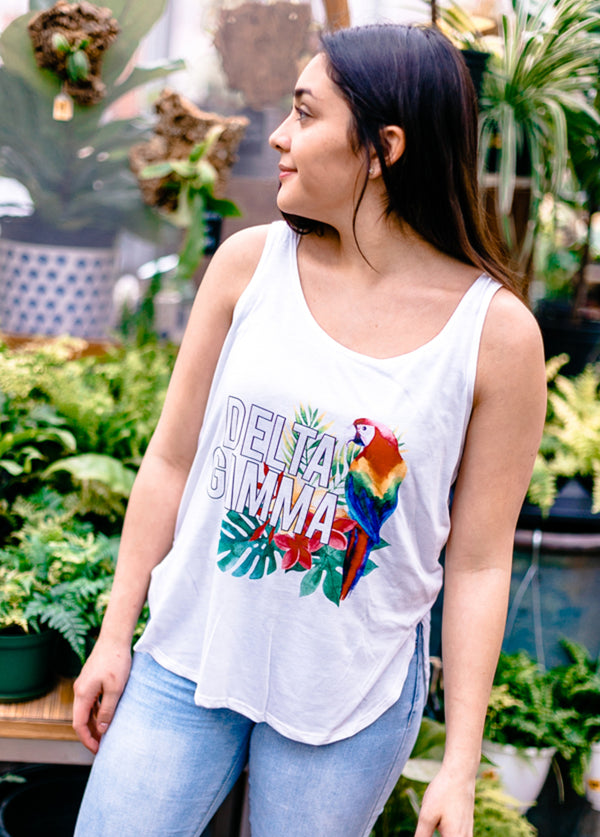 Let's Get Tropical Tank - Hannah's Closet - The Official Boutique for Delta Gamma
