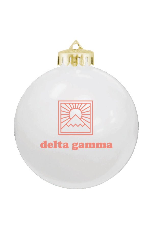 Holiday Ornament (2019) - Hannah's Closet - The Official Boutique for Delta Gamma