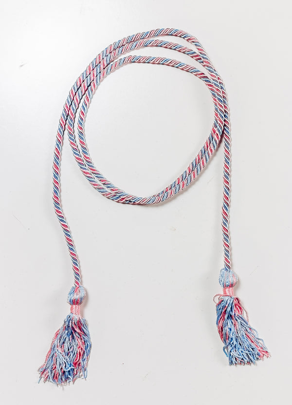 Pink and Blue Graduation Cords - Hannah's Closet - The Official Boutique for Delta Gamma
