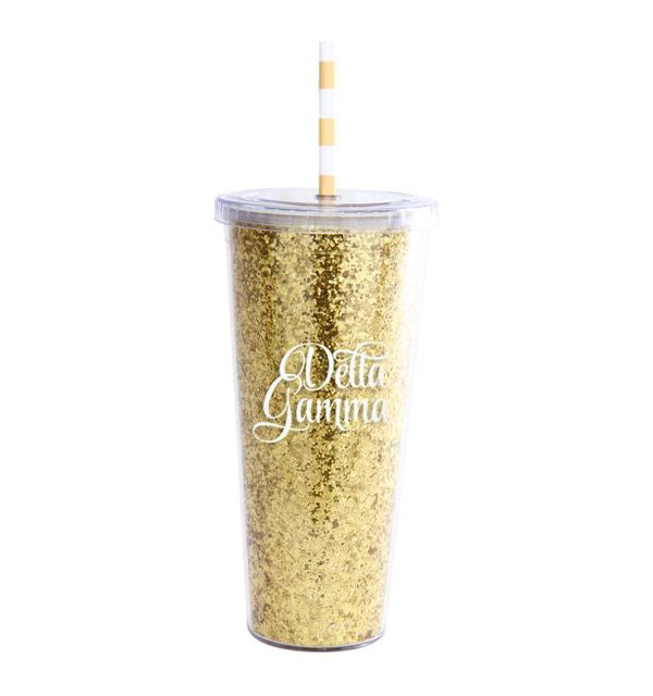Glitter Tumbler - Hannah's Closet - The Official Boutique for Delta Gamma