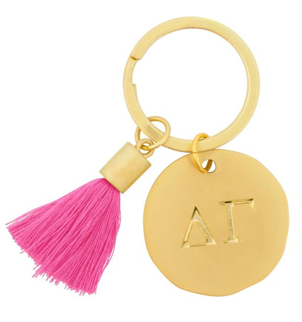 Round Tassel Keychain - Hannah's Closet - The Official Boutique for Delta Gamma