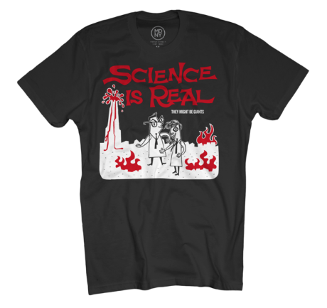 Science is Real - Australian Tour T-shirt