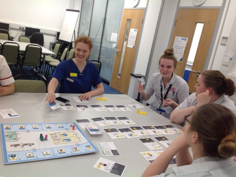 Students play the priorities game