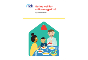 Eating Well for 1-5 Year Olds
