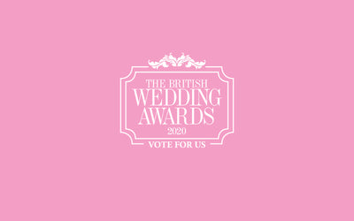 We've been Nominated for a British Wedding Award!