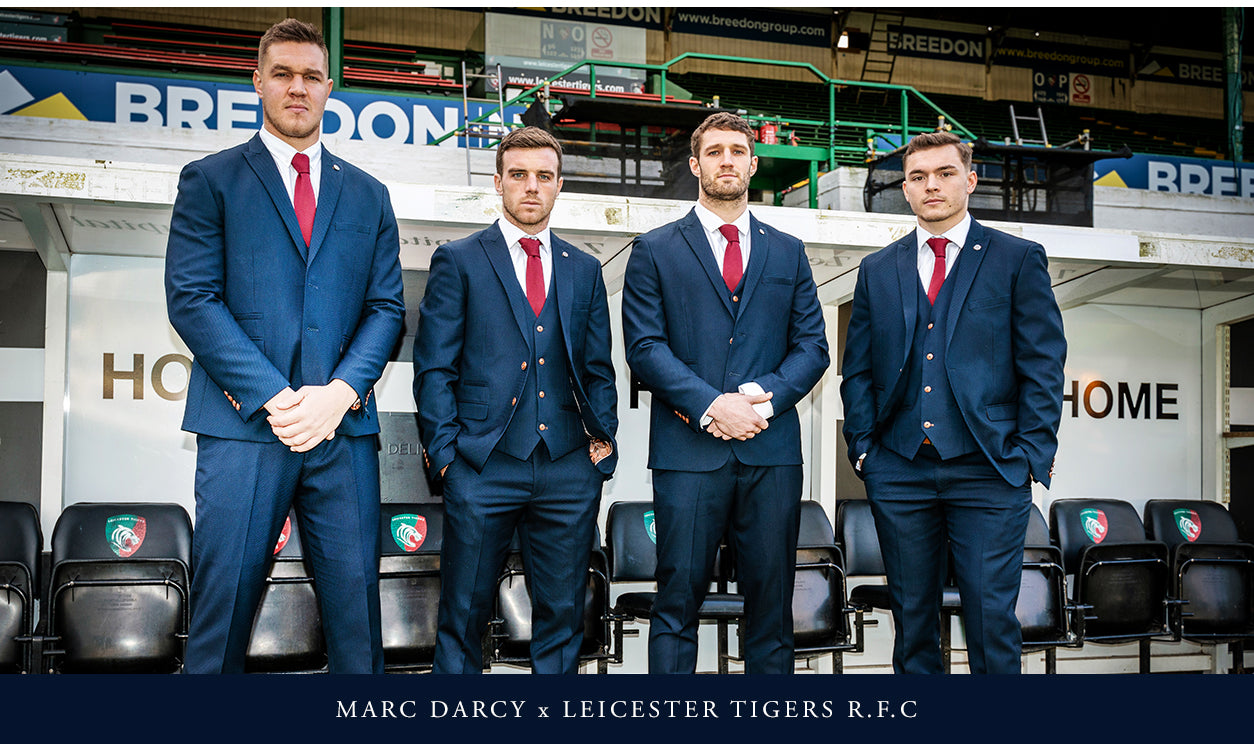 marc darcy leicester tigers r.f.c collection