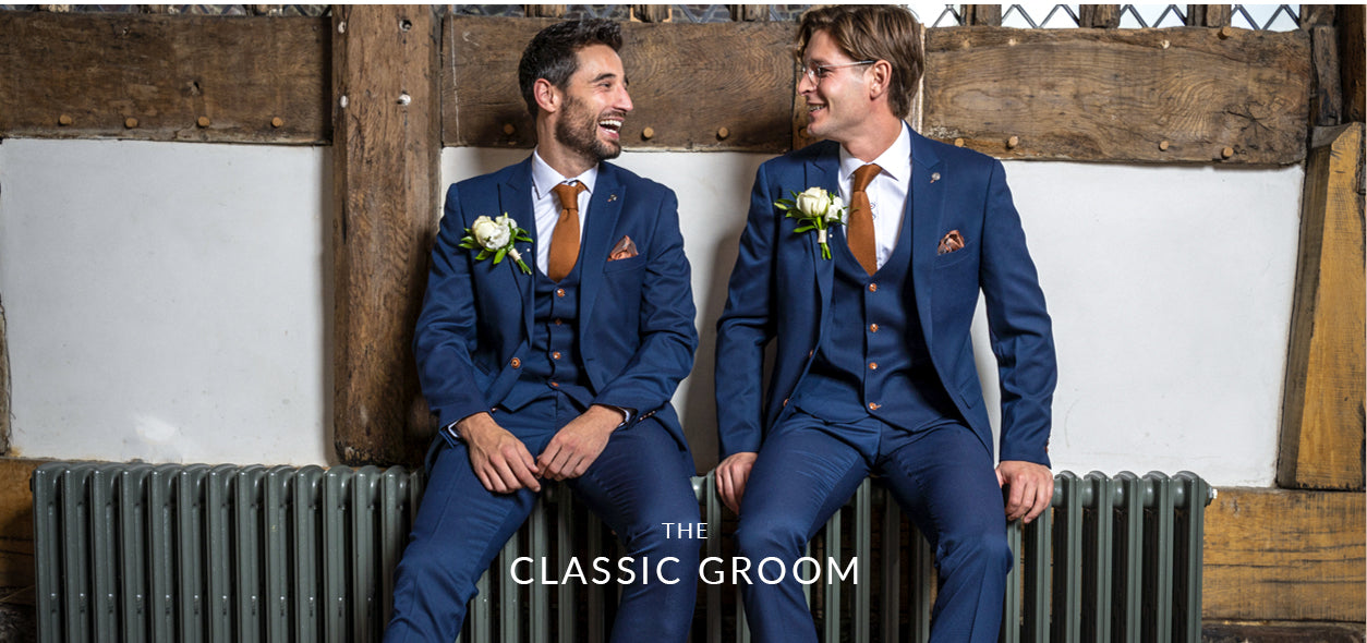marc darcy classic groom suits