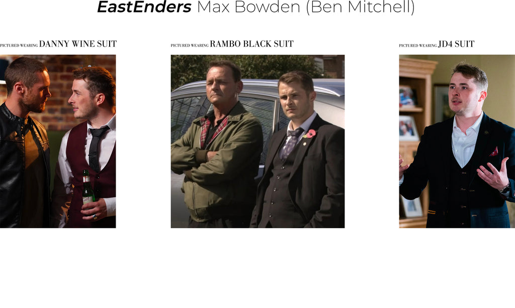 Max Bowden suit eastenders