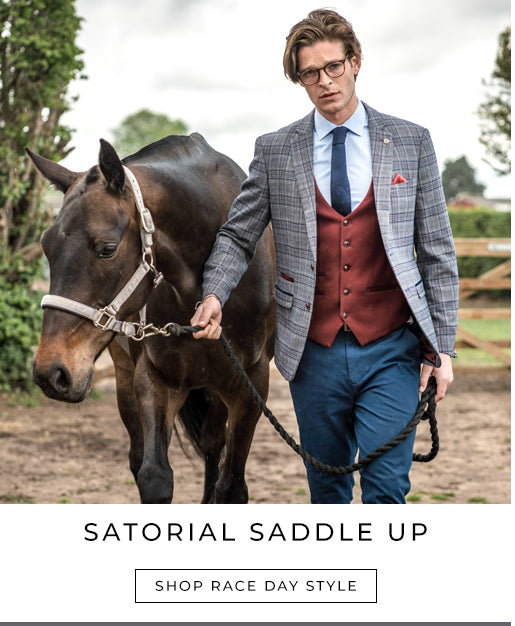 Marc Darcy race day suits