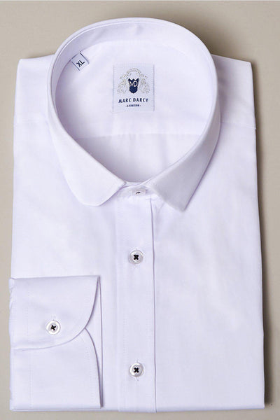 BOB - White Penny Collar Shirt