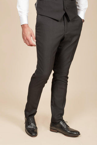 DALTON - Black Diamond Trousers