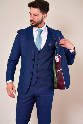 DANNY - Royal Blue Tailored Blazer