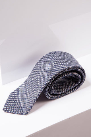 JERRY - Grey Check Tie