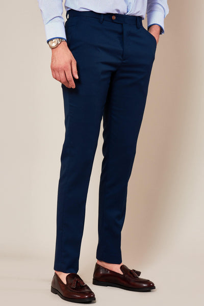 MAX - Skinny Fit Royal Blue Trousers