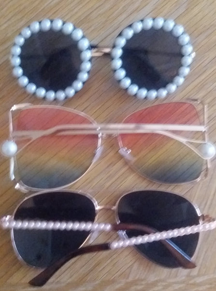 Pearl-Tastic Sunglasses!!! Various Options Available