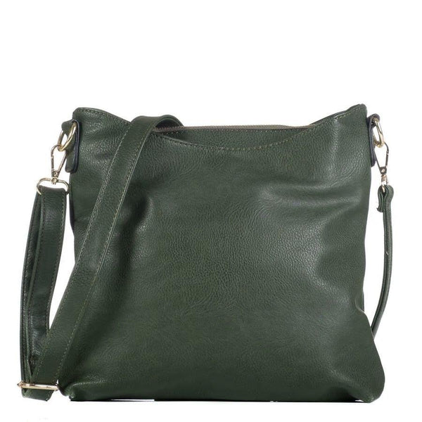 Hunter Green Monogrammable Crossbody