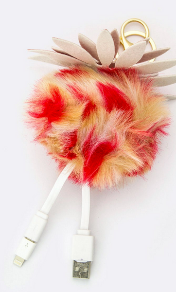 Travel USB POM POM Chargers for Android and Iphone