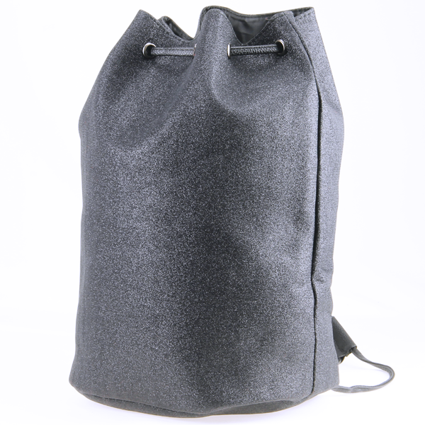 Shiny  Glitter Hematite Drawstring BackPack