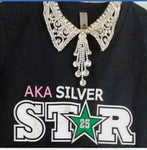 SILVER STAR T-Shirt in Black!