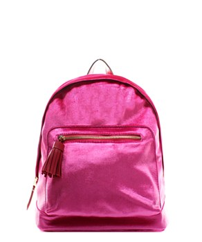 Magenta Fashion Backpack