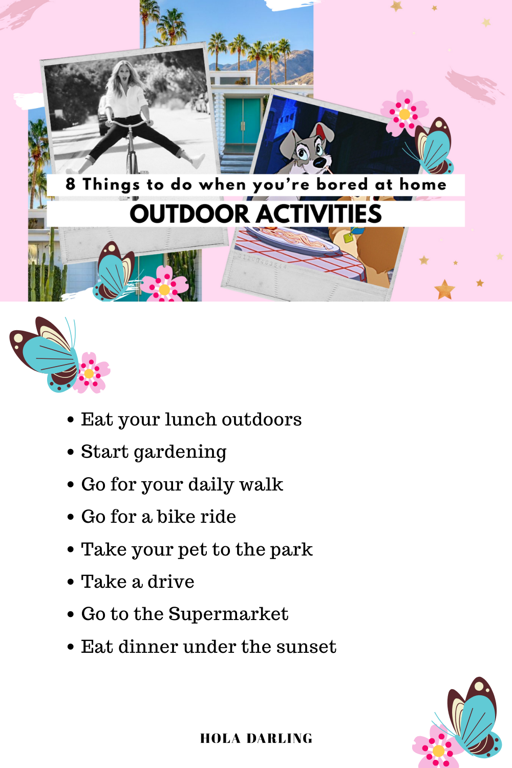 20 Things To Do When You're Bored At Home   Outdoor Activities ...