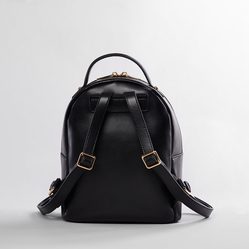 Gigi leather backpack-backpack-luxury bag-leather backpack-black leather backpack-leather bag-backpack-black backpack
