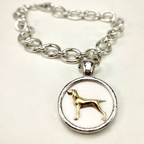 Bracco Italian Pointer or Hunting Dog Bracelet