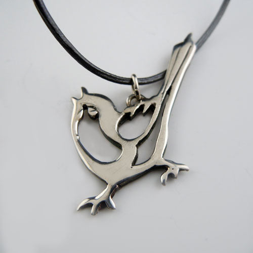 Essence Wren Bird Necklace