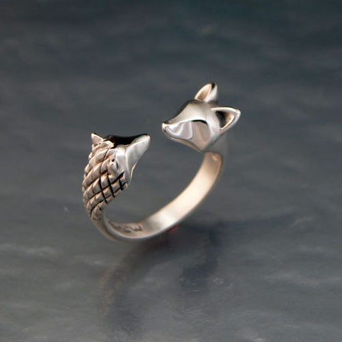 Hedgehog and Fox Ring