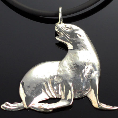 Sea Lion Pendant Necklace