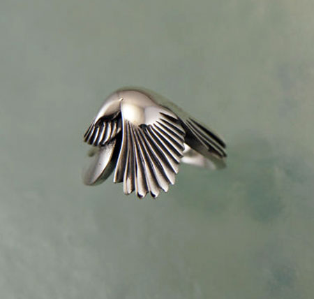 Magpie Ring Sterling Silver