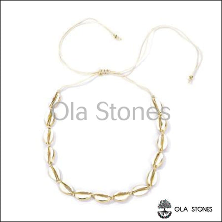 Collier Coquillage couleur - Ola Stones