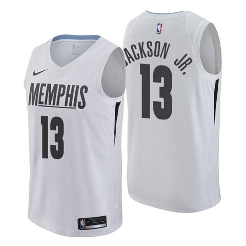 cd532969e Memphis Grizzlies  13 Jaren Jackson Jr. City Edition White Swingman Jersey