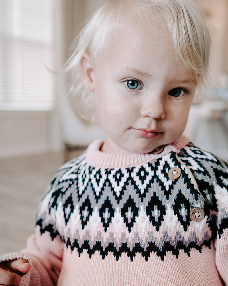 ALPINE FAIR ISLE SWEATER