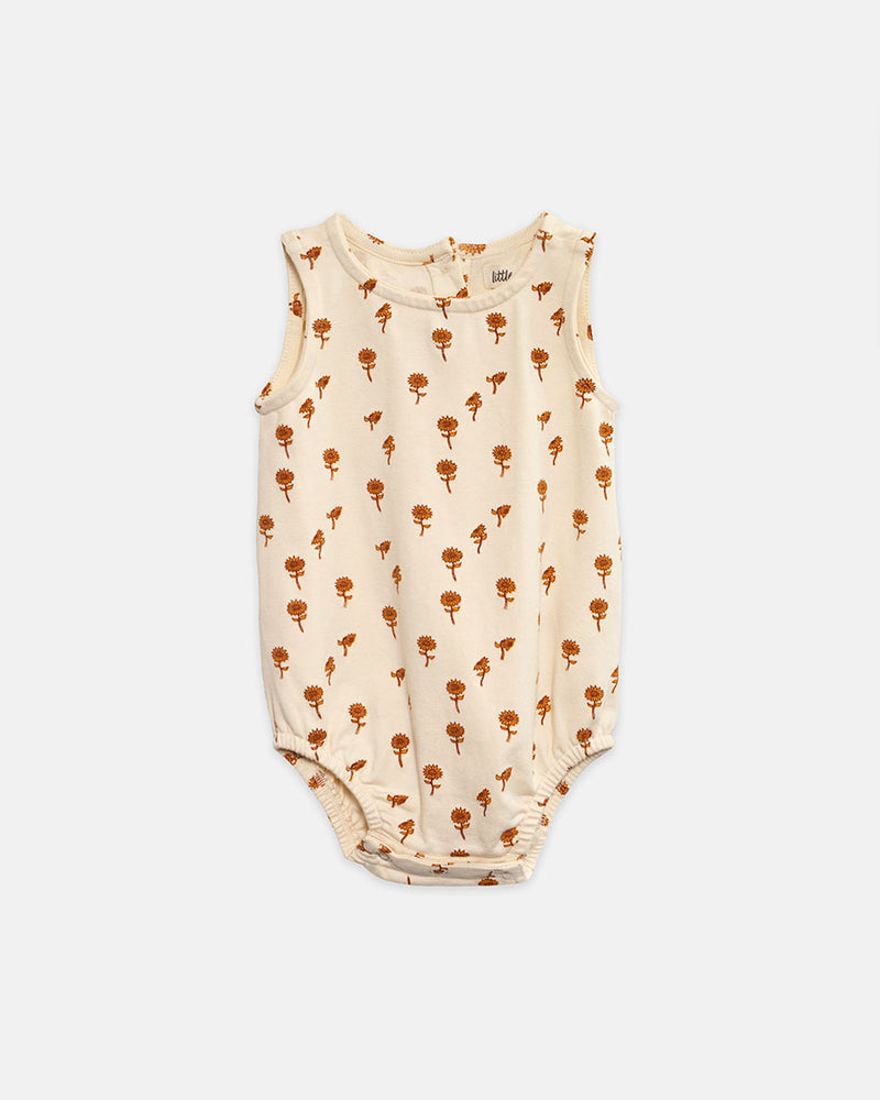 BOOMER TANK BODYSUIT - SUNFLOWER