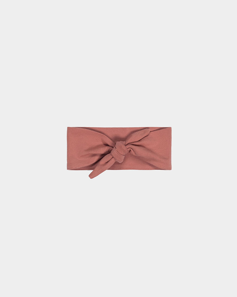 KNOT HEADBAND - ROSE