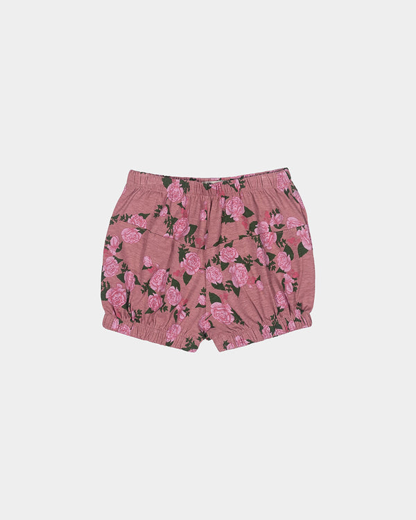 DOWNTOWN BLOOMER SHORT - ROSE FLORAL