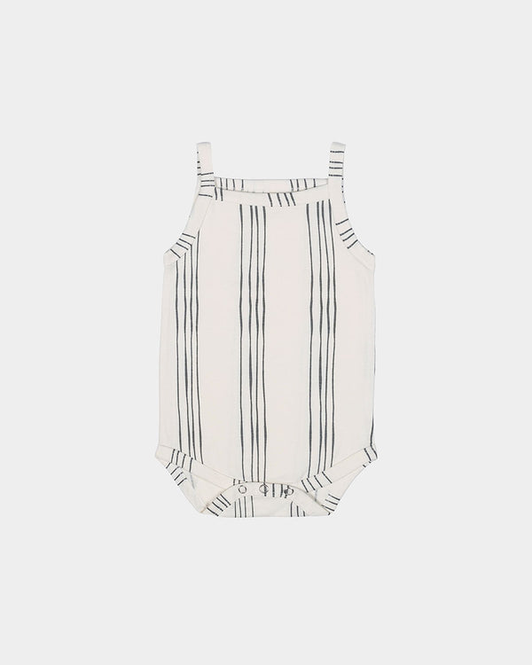 ALL DAY PLAY BODYSUIT - IVORY STRIPE