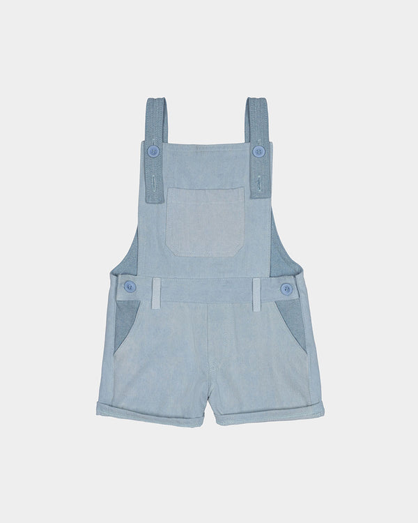 BOARDWALK OVERALLS - TRI TONE DENIM