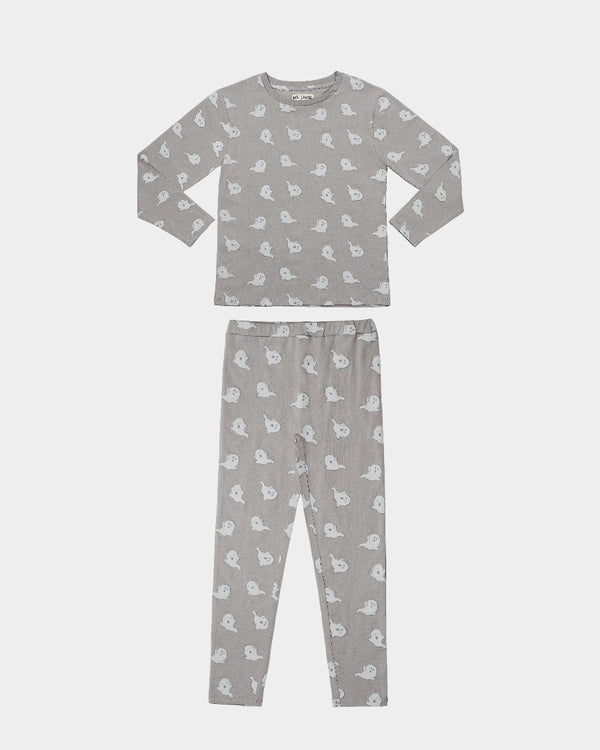 HALLOWEEN PAJAMA SET - GHOST