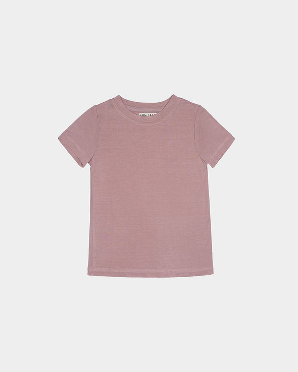 BAMBOO TEE - SUNSET PINK