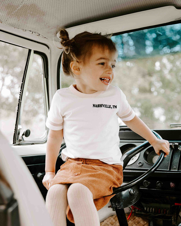 NASHVILLE RETRO TEE | GIRLS