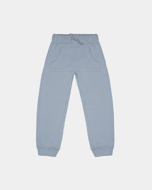 FRENCH TERRY JOGGER - BLUE GREY