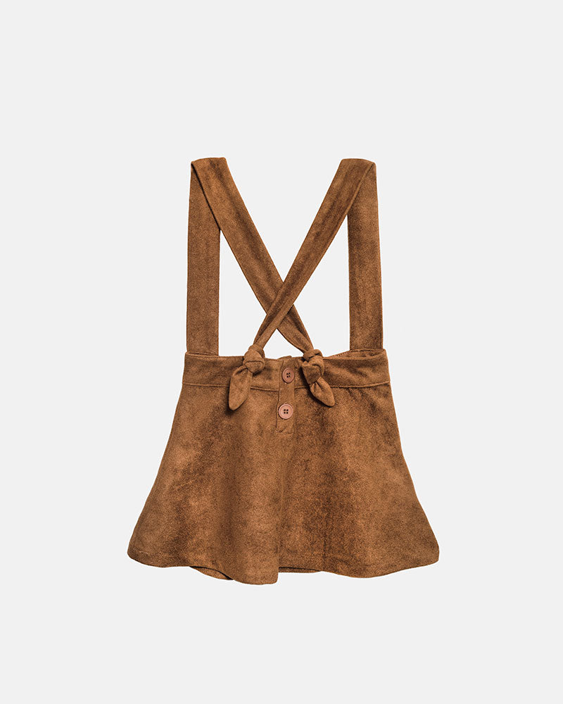 LOVE SUEDE STRAP SKIRT