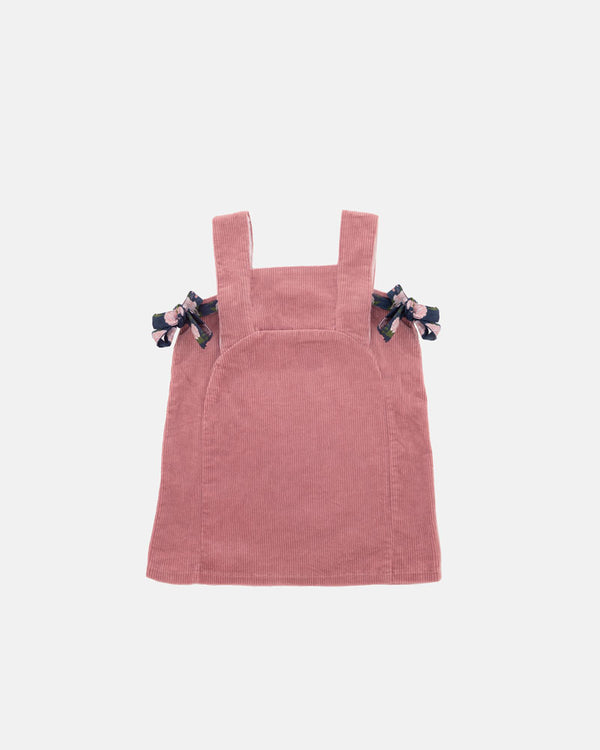 OVERALL CORDUROY DRESS