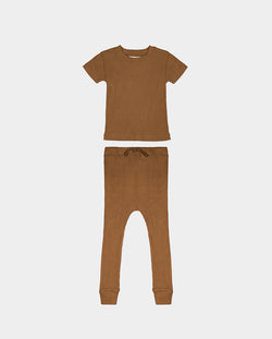 LA PAZ PAJAMAS - BROWN